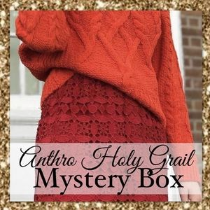 ANTHRO HOLY GRAIL MYSTERY BOX • 1 PIECE
